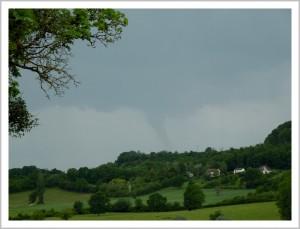 Possible tuba ou tornade dans la Nièvre le 28 mai 2014
