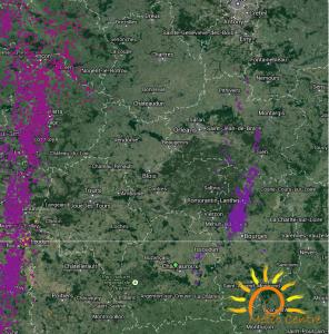Orages du 19 mai dans les régions Centre et Centrales