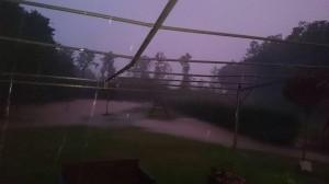 Inondation temporaire