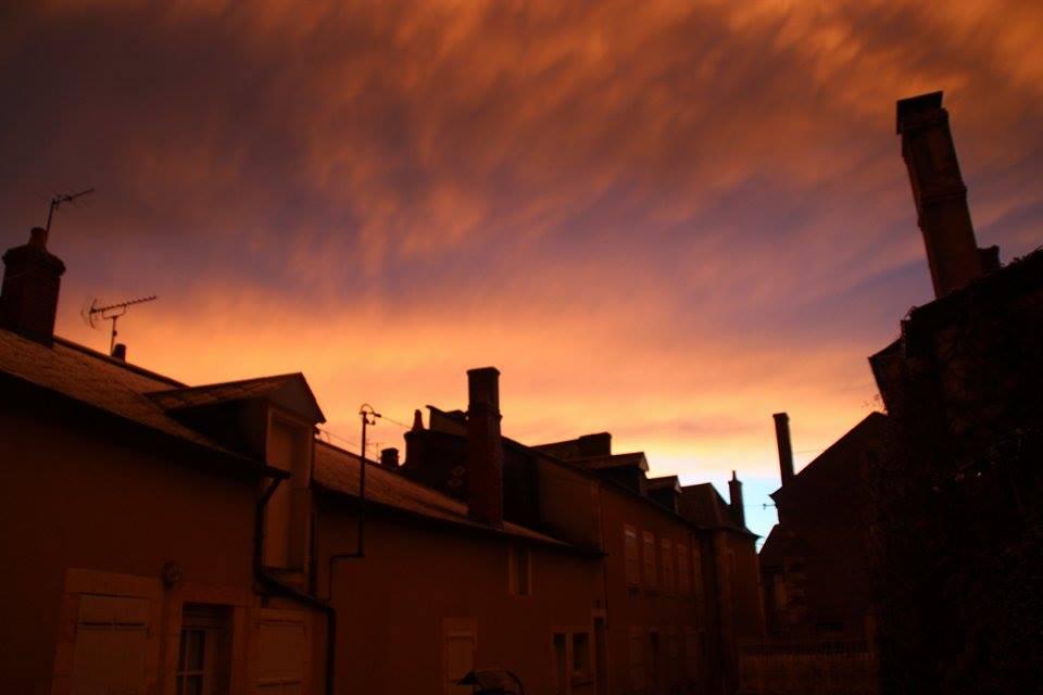 Après les averses au Aix Anguillon par Ghislain Raffestin