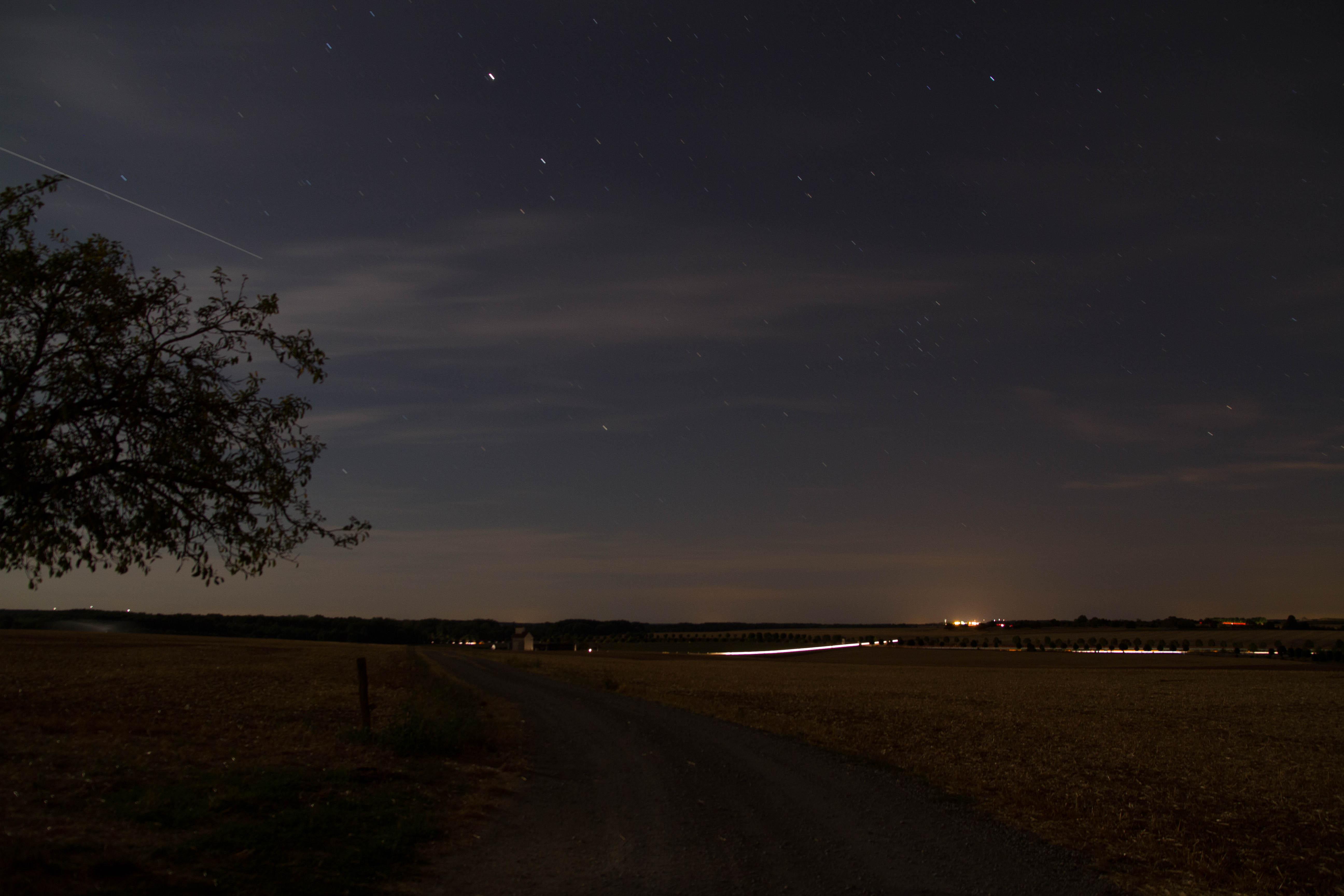 Nuit étoilé dans l'Indre