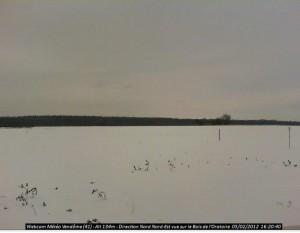 Webcam de Vendôme le 5 Février 2012