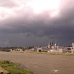 Orage à Blois (41) - Le 21/06/2012