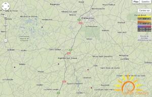 Coups de foudre dans l'Indre 2 janvier 2014 (cliquer pour agrandir)