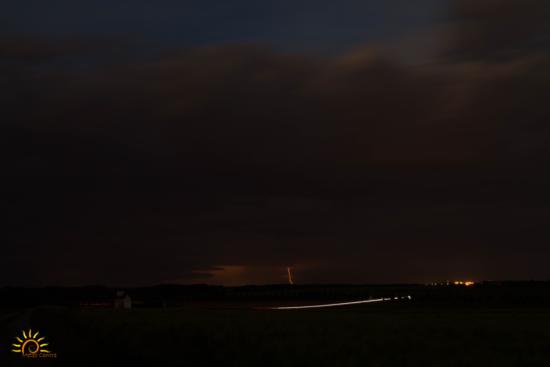 Impact au sol lointain dans l'Indre-et-Loire (37)
